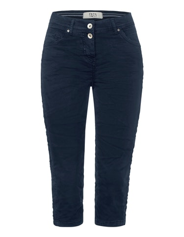 Hosen - Colour Capri Hose im 5 Pocket Style, Vicky, 32  - Onlineshop Adler