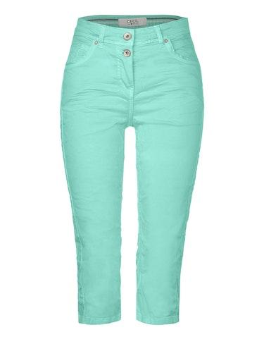 Hosen - Colour Capri Hose im 5 Pocket Style, Vicky, 33  - Onlineshop Adler