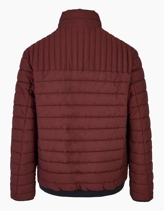 Bexleys man Gesteppte Jacke mit farbigem Reißverschluss | [ADLER Mode]