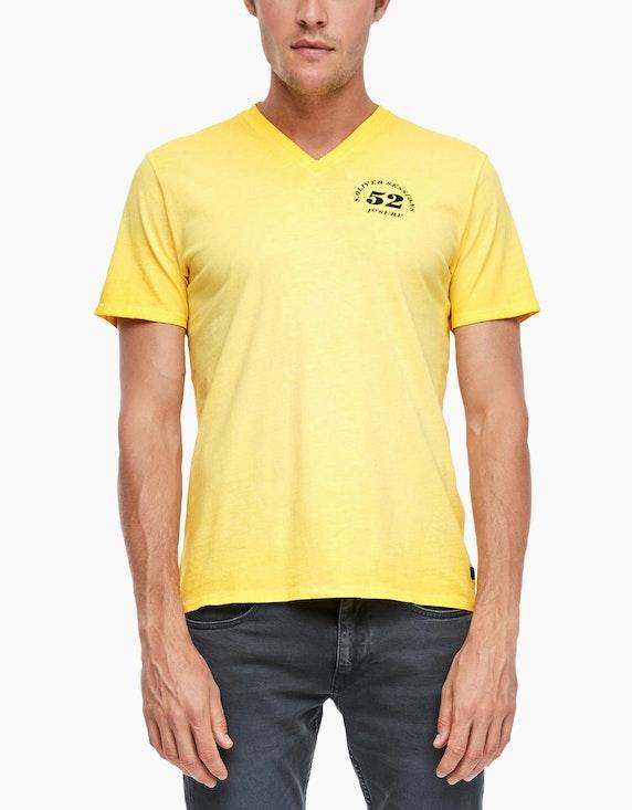 s.Oliver T-Shirt mit Wascheffekt | [ADLER Mode]