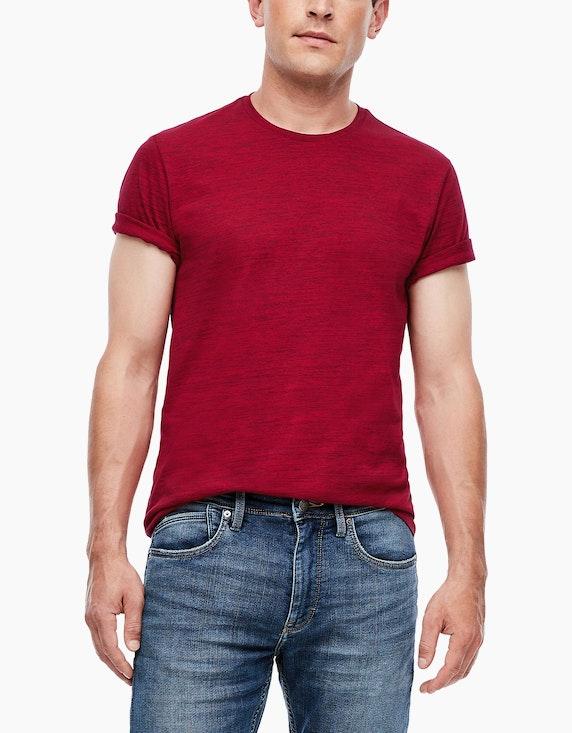 s.Oliver Shirt in Melange-Optik | [ADLER Mode]