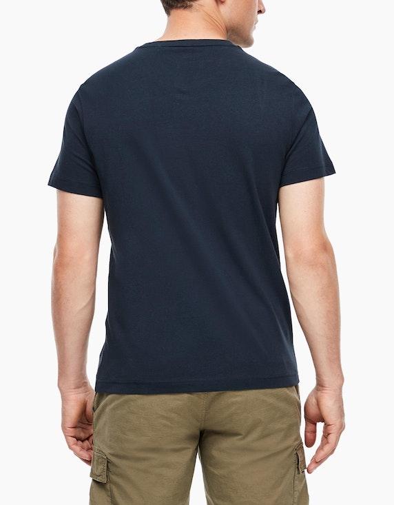 s.Oliver Baumwoll-Shirt mit Frontprint | [ADLER Mode]