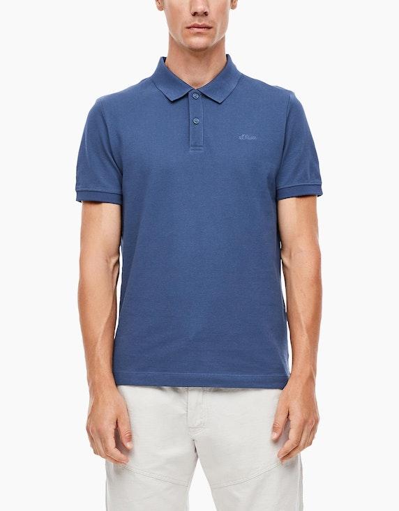 s.Oliver Poloshirt aus reiner Baumwolle | [ADLER Mode]