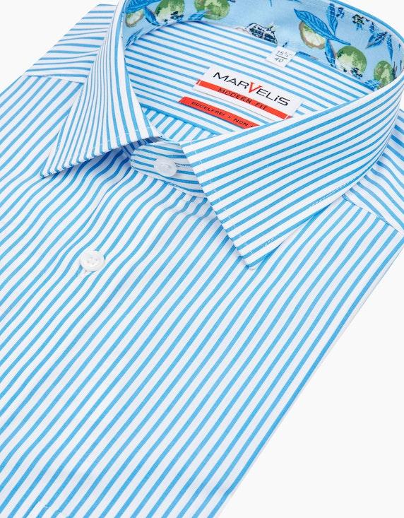 Marvelis Dresshemd, kurzarm | [ADLER Mode]