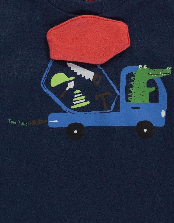 Tom Tailor Baby Boys Shirt mit Front-Motiv | [ADLER Mode]