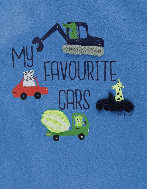 Tom Tailor Baby Boys Sweatshirt im Color-Block-Look | [ADLER Mode]
