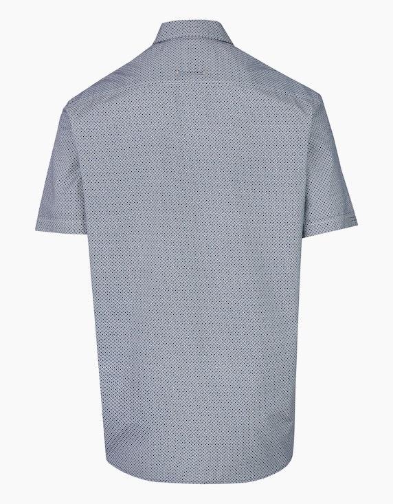 Bexleys man Freizeithemd, kurzarm, bedruckt | [ADLER Mode]