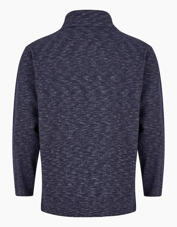 Big Fashion Meliertes Sweatshirt mit Turtleneck | [ADLER Mode]