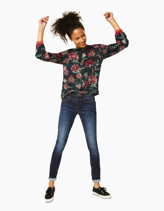 Street One Blusenshirt mit floralem Druck, reine Viskose   [ADLER Mode]