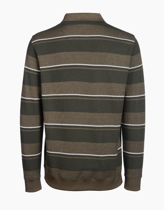 Senator Polo-Sweatshirt gestreift | [ADLER Mode]