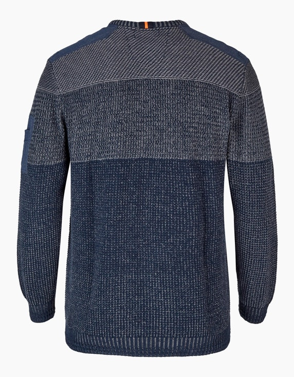 Big Fashion Strickpullover mit Blockstreifen | [ADLER Mode]