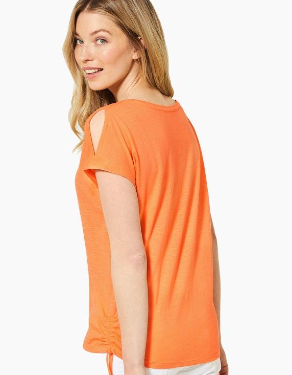 CECIL Shirt mit Schulterschlitzen und Raffungen | [ADLER Mode]