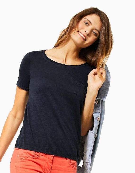 CECIL Shirt mit Spitzeneinsatz aus reiner Baumwolle | [ADLER Mode]