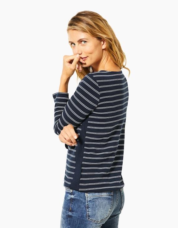 CECIL Streifen-Shirt mit Ottoman-Struktur | [ADLER Mode]
