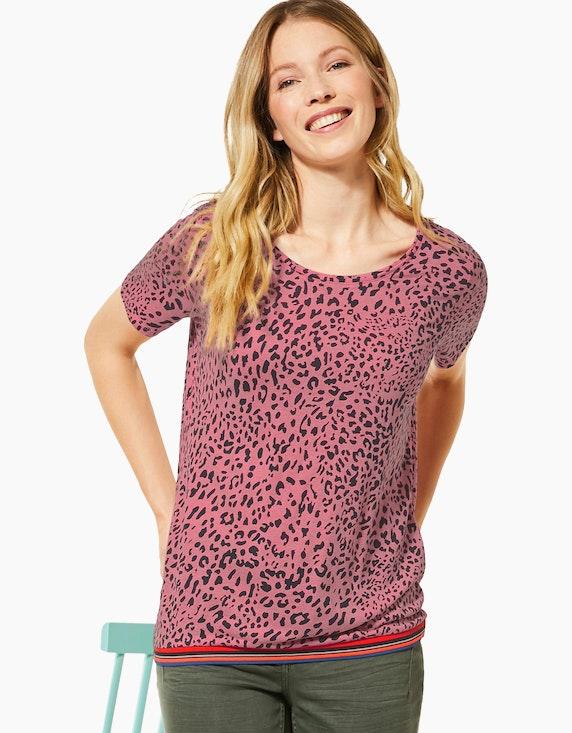 CECIL Shirt mit Animal-Print, reine Viskose | [ADLER Mode]