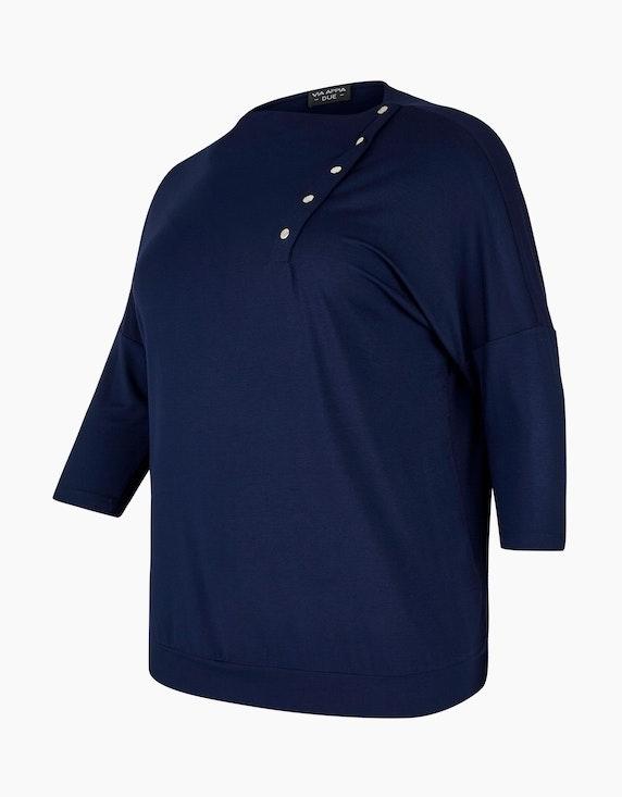 VIA APPIA DUE Shirt mit raffinierter Knopfleiste | [ADLER Mode]