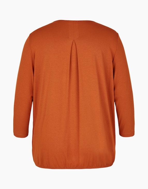 VIA APPIA DUE Bluse mit Chiffoneinsatz | [ADLER Mode]