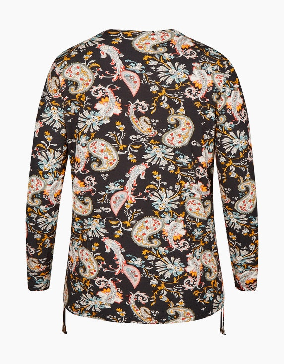 No Secret Shirt mit Paisley-Muster | [ADLER Mode]