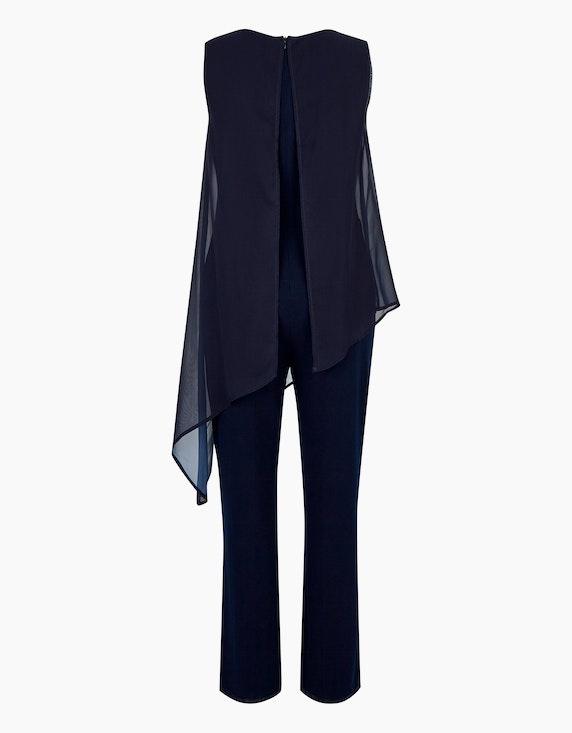 Bexleys woman Jumpsuit mit Chiffon-Layer | [ADLER Mode]