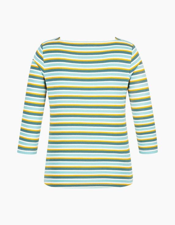 Steilmann Woman Streifen-Shirt mit Karree-Ausschnitt | [ADLER Mode]