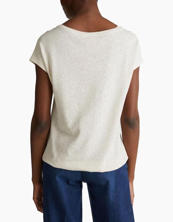 Esprit Gummizug-Shirt aus Baumwoll-Leinen-Mix | [ADLER Mode]