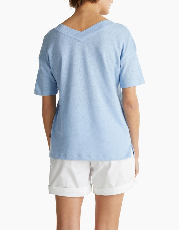 Esprit Shirt mit doppeltem V-Ausschnitt | [ADLER Mode]