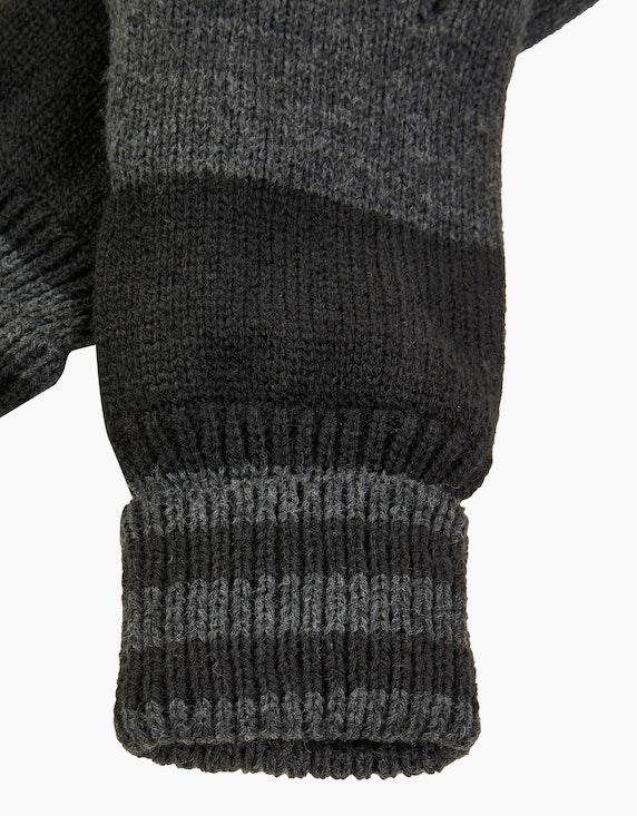 Bexleys man Strickhandschuhe zweifarbig | [ADLER Mode]