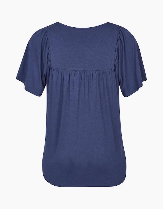 Thea Shirt mit Karree-Ausschnitt und Spitze   [ADLER Mode]