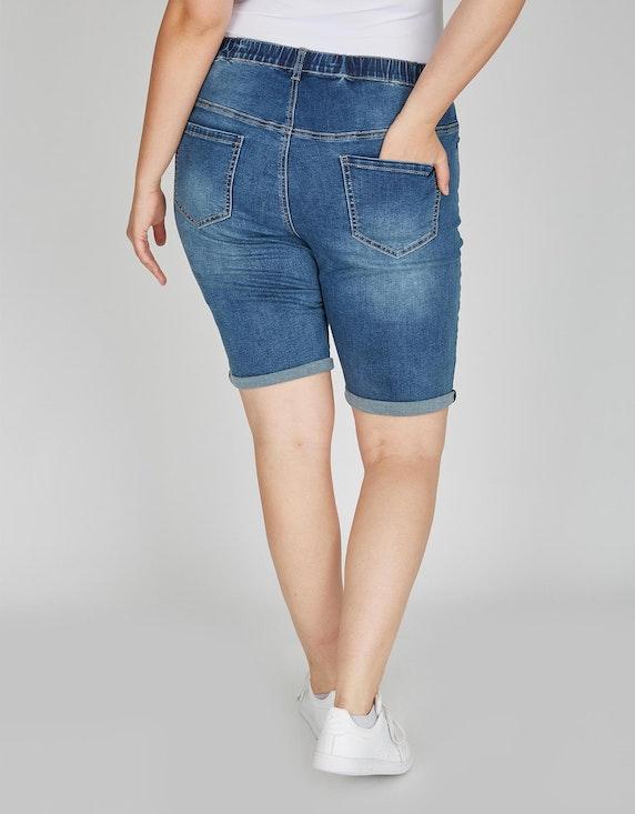 Thea Jeans-Bermuda-Hose, 5-Pocket | [ADLER Mode]