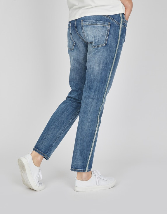 MY OWN Jeans mit Galonstreifen | [ADLER Mode]