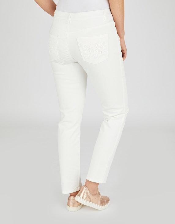 MY OWN Jeans, 5-Pocket mit Stickerei | [ADLER Mode]