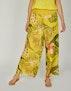 gelb Blätterprint