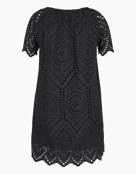 MY OWN Kleid aus Baumwolle mit Lochstickerei   [ADLER Mode]