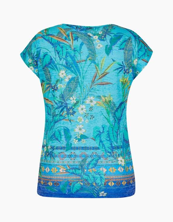 Bexleys woman leichtes Kurzarmshirt im Floralen Design | [ADLER Mode]
