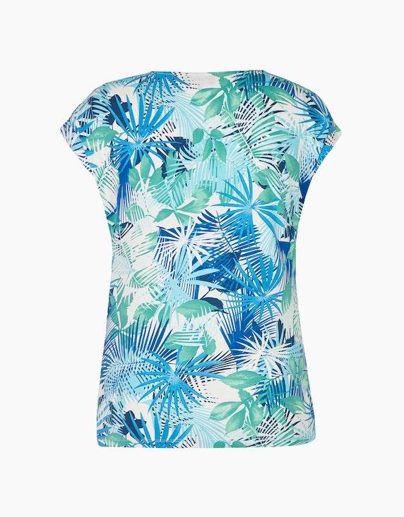 Bexleys woman Shirt mit Blätterdruck   [ADLER Mode]