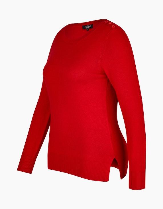 Bexleys woman Pullover mit Zierknöpfen auf der Schulter | [ADLER Mode]
