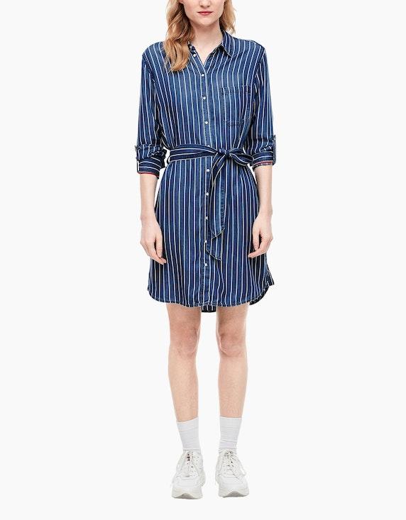 s.Oliver Kleid in sommerlichem Streifendesign   [ADLER Mode]