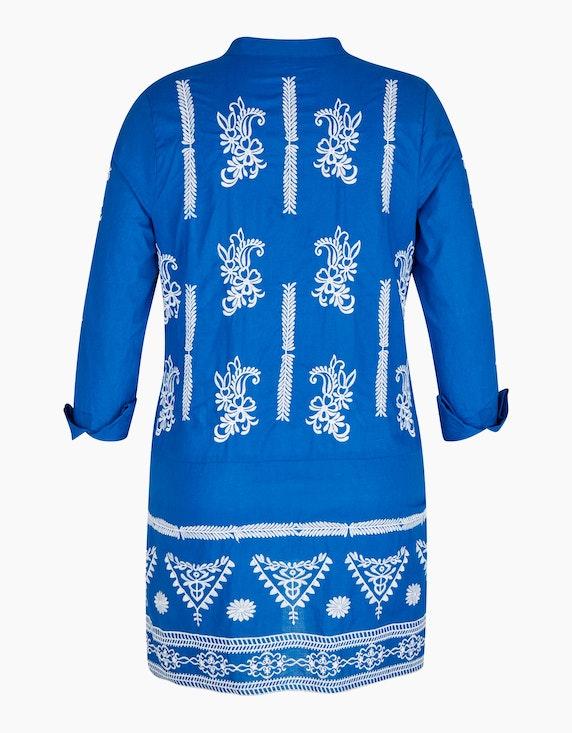 Bexleys woman Bluse mit folkloristischer Stickerei   [ADLER Mode]
