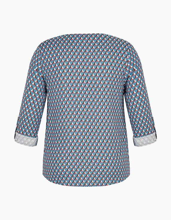Bexleys woman Shirtbluse mit grafischem Druck und Tunika-Ausschnitt   [ADLER Mode]