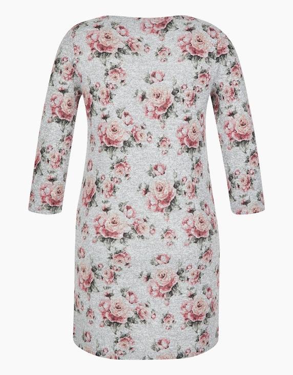 MY OWN Jersey-Kleid mit Rosendruck | [ADLER Mode]