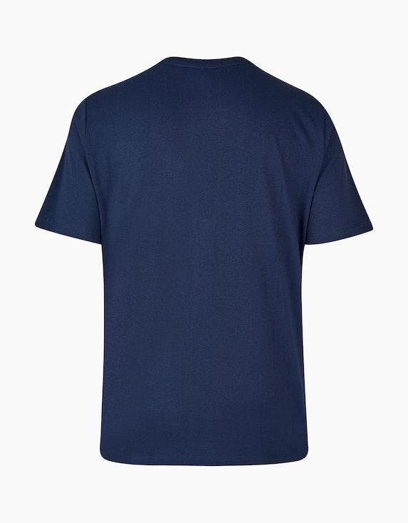 Thea Basic-Shirt mit Letterprint aus reiner Baumwolle   [ADLER Mode]