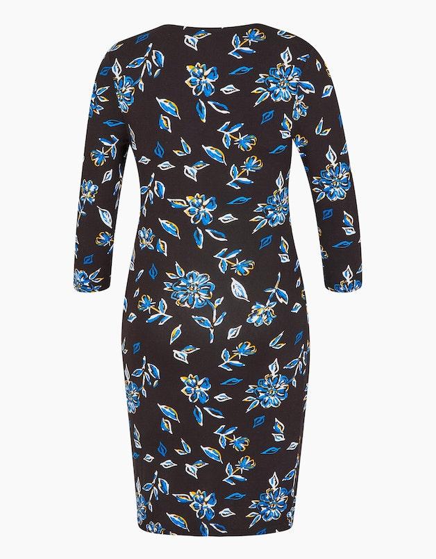 Jersey-Wickelkleid mit Blumenmuster in  - VIVENTY articleID: 12895 colorID: 11804