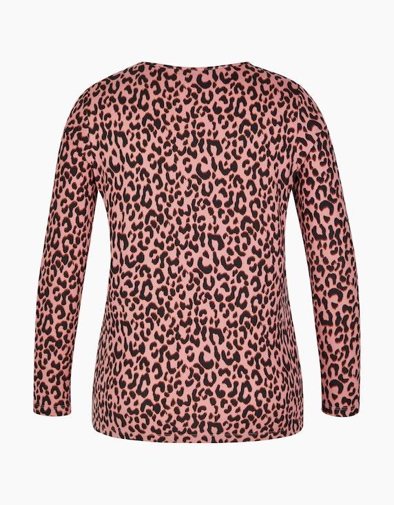 Viventy Shirt mit Leodruck in weicher Jerseyqualität   [ADLER Mode]