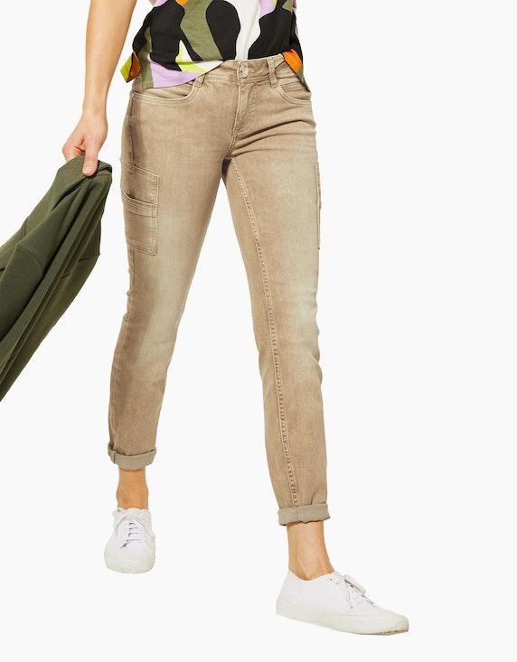 Street One Colour-Jeanshose im Cargo-Style   [ADLER Mode]