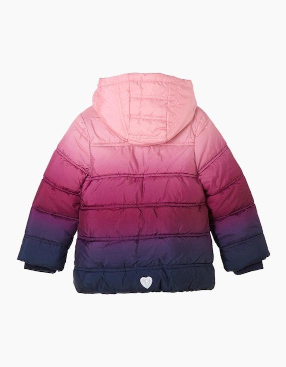 s.Oliver Mini Girls Puffer Jacket mit Farbverlauf   [ADLER Mode]