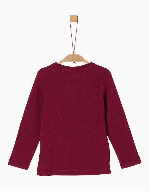 s.Oliver Mini Boys Langarmshirt mit Schriftprint   [ADLER Mode]