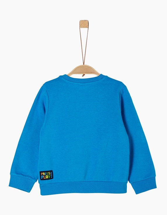 s.Oliver Mini Boys Sweatshirt mit Statement   [ADLER Mode]