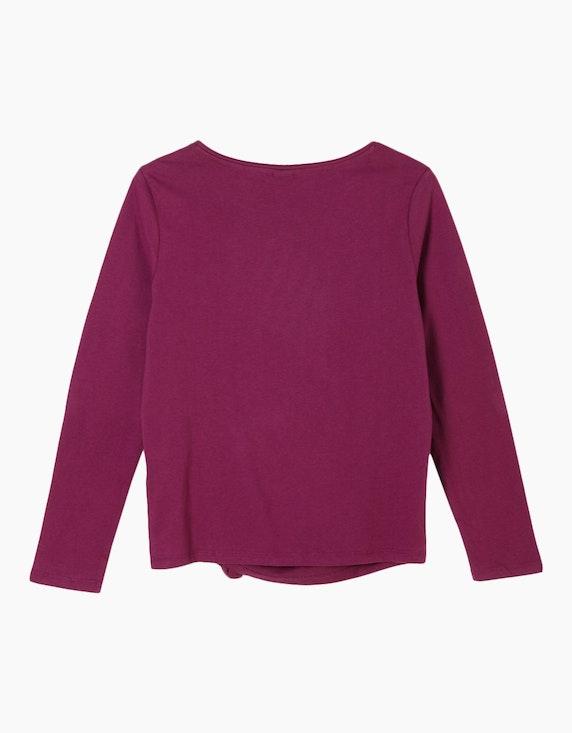 s.Oliver Girls Jerseyshirt mit Statement-Print   [ADLER Mode]