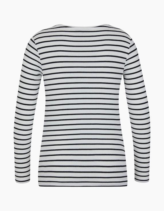 Bexleys woman Langarmshirt mit Breton-Streifen - aus Organic Cotton | [ADLER Mode]