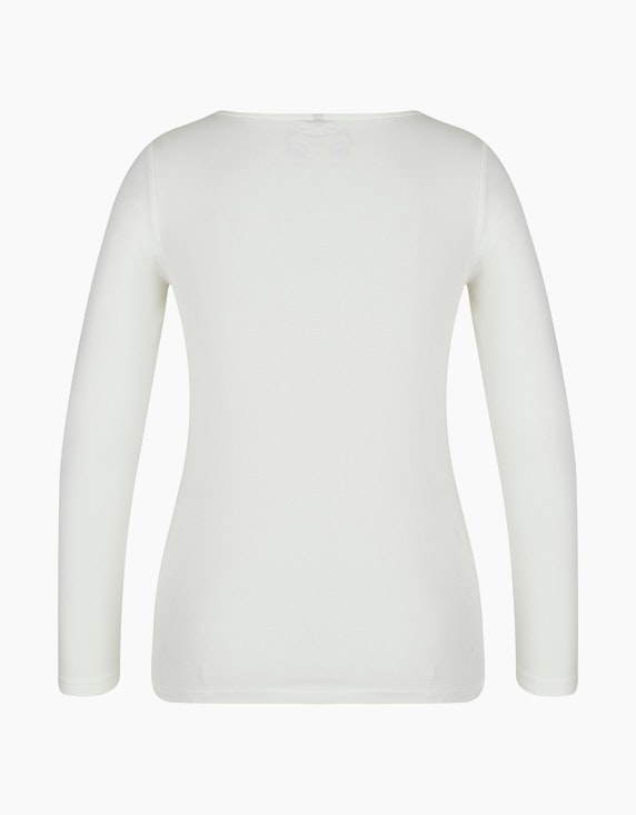 Bexleys woman Langarmshirt mit platziertem Druck | [ADLER Mode]